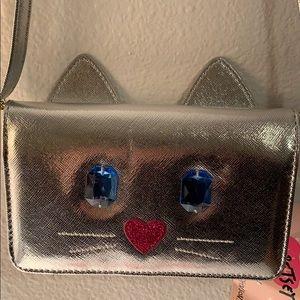 NWT. Betsey Johnson adorable cat 🐈 purse.